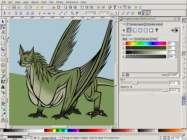 Vector dragon 7