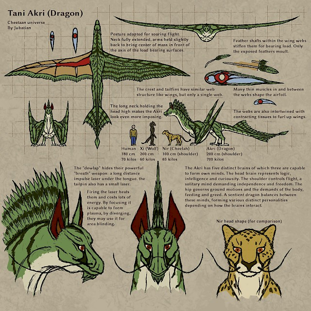 Tani Akri (dragon) reference